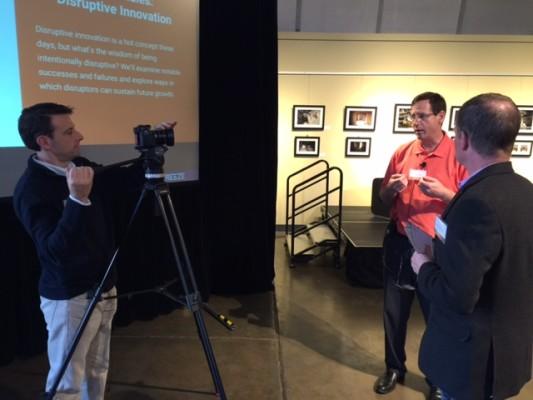 XperienceLab interviewing Scott Welz, SVP & Director of Innovation, Wells Fargo Advisors.