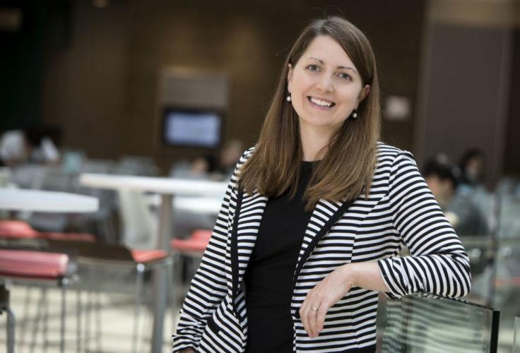 associate professor of marketing Cynthia Cryder